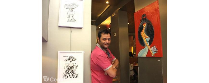 Vidéo de l'exposition au restaurant l'Odevie