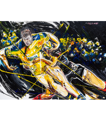 Rugby jaune et bleu