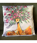 Coussin Tulipes Lips