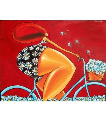 marguerite à vélo