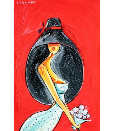 Chapeau Long noir
